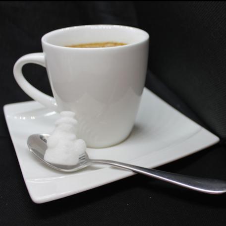 bonhomme blanc cafe