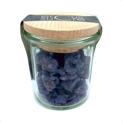 Pot Violettes Cristallisées